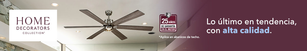 Ventiladores de Techo Home Decorators Collection Home Depot México
